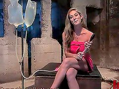 Wild Blonde will play with the Dungeon's Chair