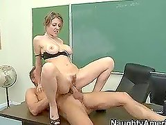 Hot MILF Teacher Gets Banged by a Very Naughty Student