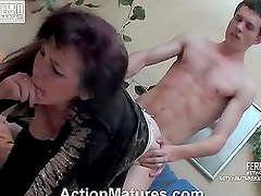 Teen Brunette Has Her Tight Pussy Fucked By Her Horny Cousin