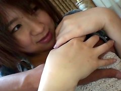 Adorable Japanese girl Yui Hamano doesn't mind going dirty and nasty