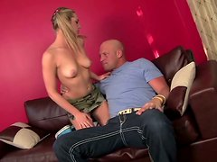 Naughty teen whore Bailey Blue seduces Christian XXX and licks his butthole