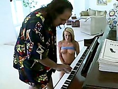 Horny Aiden Aspen Gets Her Mouth Stuffed By Ron Jeremy