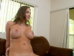 Nika Noire rides cock and shake her fantastic assets