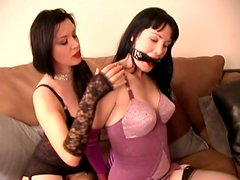Sweet and chubby milfs Anastasia Pierce and Paige Richards get freaky