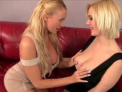 Great knockers of Siri and Summer Brielle look delicious