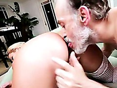 Temptress Alanah Rae Bends Over For A Pussy Plowing