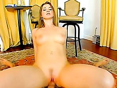 Horny Sunny Lane Pumps Her Pussy On A Hard Massive Cock
