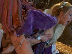 Honey princess Jessica Drake gets her pussy licked and fucked