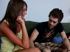 Curvy and tanned young hooker Cassandra Nix got delicious soles