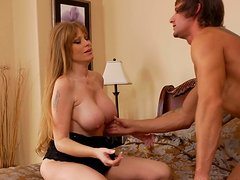 Tempting surprise by sexy girl Darla Crane