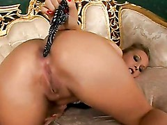 Busty Blonde Jessica Moore Gets Her Tight Ass Banged Hard And Creampied