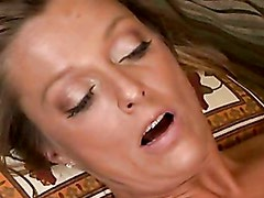 Scorching Hot Momma Brenda James Gets That Shaved Twat Cracked