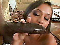 Slutty Tanned Mia Lina Gets Her Mouth Attacked By A Gigantic Huge Boner
