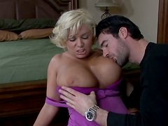 Claudia Marie with drropy boobs is ready to get fucked