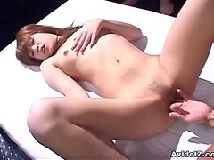 Sexy Japanese babe is used and abused Uncensored