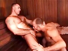 Three Guys In Sauna