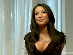 Tortura - Sexy Asa Akira gets tied up and double penetrated