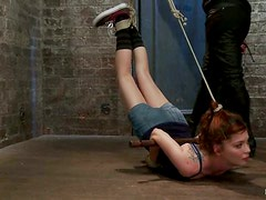 Bondage Whore Puts Her Resistance To The Test