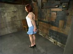 Pinky Lee Redhead Nympho Having Fun in Torture and Bondage Session