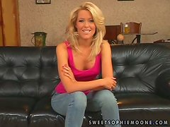 Sabrina Sweet and Sophie Moone enjoy toying one another's holes