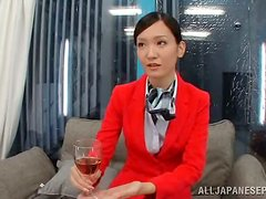 This executive officer meeting took a kinky turn with wine