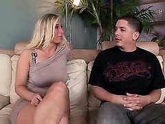 Devon Lee fucked and tits cummed