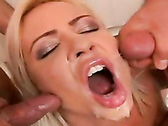 Hot Whore Honey Winters Ravaged By Two Monster Cocks And Blasted With Jizz