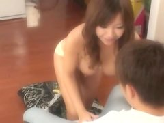 Sumire Matsu drives some guy crazy with a fantastic titjob