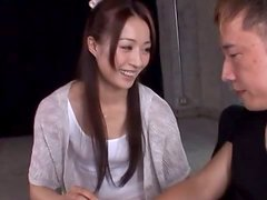 Mau Morikawa makes out with some guy and takes a ride on his dick