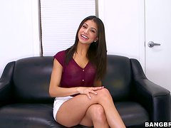 Veronica Rodriguez enjoys some naughty banging at a casting