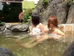 Hot Japanese teen in bikini gets fucked in a Jacuzzi