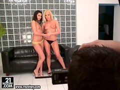 Fisting Fun in Behind the Scenes Vid with Cindy Hope and Sophie Moone