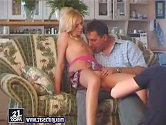 Making a Porn Video with a Hot Blonde Girl in Behind the Scenes Clip