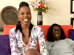 Black Porn Vid with Stunning Ebony Babe Coffee Brown