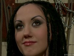 Torture and Whipping Plus Toying and Fucking for Gina Lorenzza in BDSM