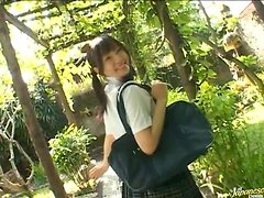 Cute naughty tennis teen takes her clothes off outdoors