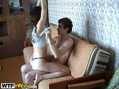 Great morning fuck with an amateur couple