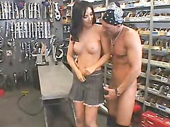 Sensual hot momma Diana Prince cracks her silky smooth lips with a massive cock