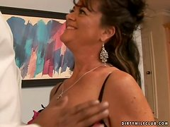 Horny-Ass Milf Gets Big Time Fucked