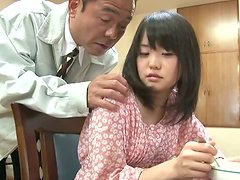 Kurumi Tachibana gets her snatch fingered, toyed and drilled hard