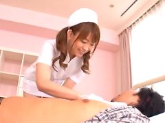 Kinky Nurse Gagging And Humping On Her Boyfriend'S Hard And Throbbing Cock