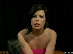 House of Wax and Torture with Brunette Being Fucked in BDSM