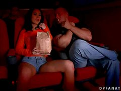 Sonja Gets Down & Dirty At the Cinema With Two