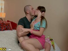 Hot sex video with extreme deep throat