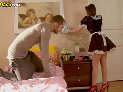 Nasty maid in high heel porn vid