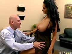 Interview with Ava Addams' Bubble Butt and Tight Asshole