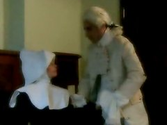 Horny Blonde From the Eighteenth Century Getting Her Asshole Fucked
