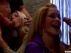 Hot Babes at Awsome Public Party Orgy
