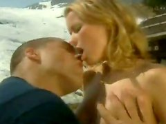 Hot Blonde Dora Venter Taking on a Big Cock Outdoors In the Forest