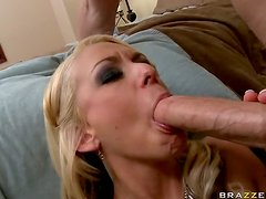 Busty Blonde Vixen Briana Blair Loves To Be Fucked By a Big Cock